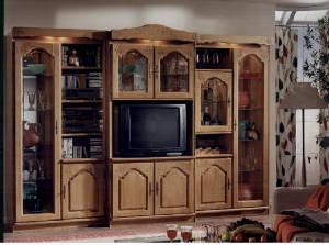 Schrank Furniture, Oak wall units, oak bar cabinets