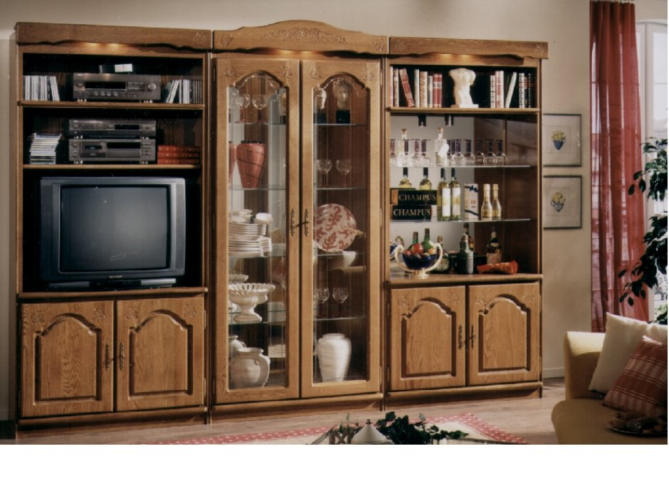 Schrank Furniture, Oak Wall Units, Oak Bar Cabinets